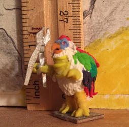 Chunky Chicken mini figure by kaijulord21