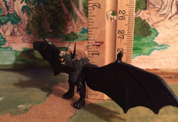 Giant Bat figure, Zilla the series by kaijulord21