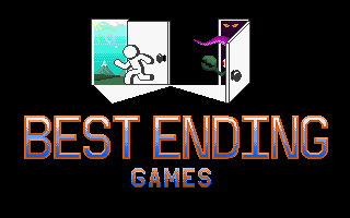 Best Ending Games logo by herooftime1000