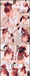 Bow Style Hair Style Tutorial by VioletLeBeaux