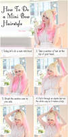 Mini Bow Hairstyle Tutorial by VioletLeBeaux