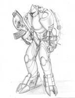 Exoskeleton Prototype by DissidentZombie