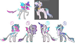 MLP Bred Adopts - Laluse x Dawn Elixir (2/4 Open) by Blast4rt