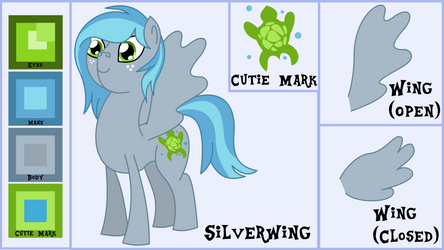 Silverwing Reference and Bio by OddishArt