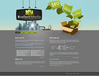 Xcellent Media - Web Design by Ansie-Ans