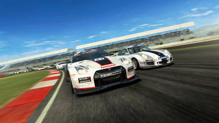 Real Racing 3 HD - PC wallpaper by Dseo