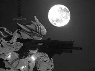 Hayabusa Full Moon by Hayabusaman