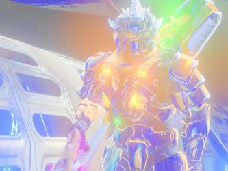 God spacehayabusa by Hayabusaman