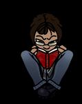 Tiny Reader2 (Ari) by DindellaTheDefender