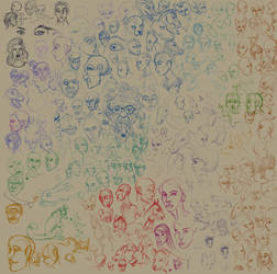 Doodles 3 2018 by KichisCrafts