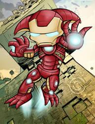 Avengers-Gw2 style--Iron Asura by Aerindarkwater
