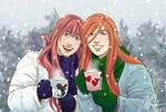 Secret Santa 2017 - Ellie and Aylen by anniecoleptic