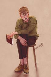 Remus by upthehillart