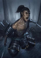 Samurai by daviechang24
