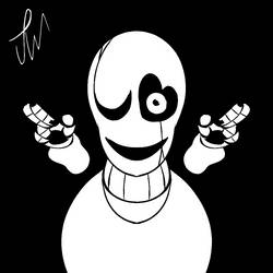 Gaster Skecth by jegarwoods