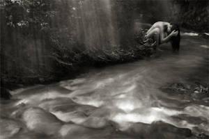 washing hair by Floriandra