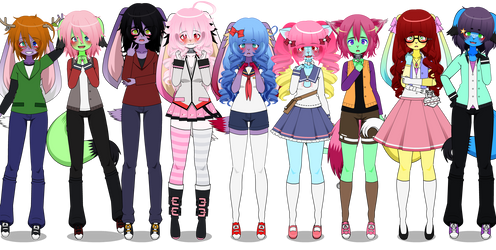 cancer squad (main/pt1) by G-U-R-O