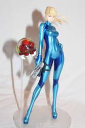 Zero Suit Samus PVC figure 2 by MetroidDatabase