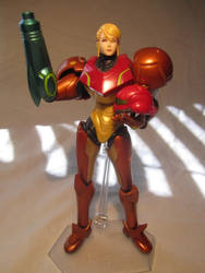 Zero Suit Samus Figma - See You Next Mission! by MetroidDatabase