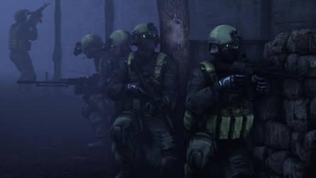 raiding a compound by gtanoofa