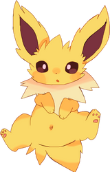 Jolteon Loves You by mandaIa