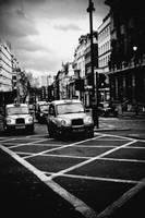 london cabs by abekamal