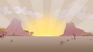 Desert Sunrise by BonesWolbach