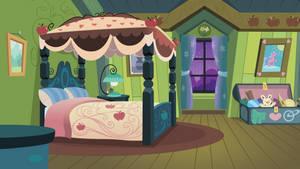 Apple Bloom's Bedroom Towards Window by BonesWolbach
