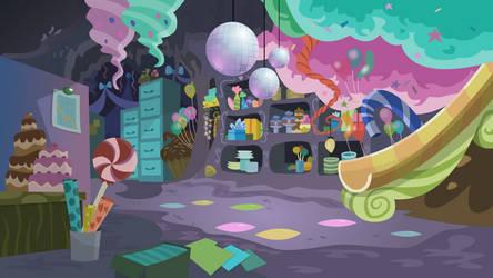 Pinkies Secret Lair by BonesWolbach