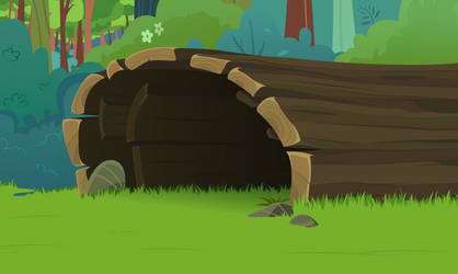 Hollow Log by BonesWolbach
