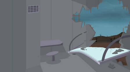 Brig Cell Broken Wall by BonesWolbach