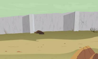 Desert Wall by BonesWolbach