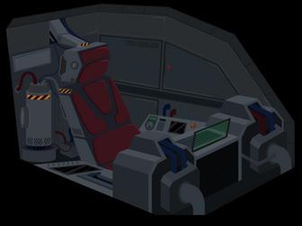 Mech Cockpit by BonesWolbach