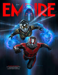 Ant-Man And The Wasp's 1st Empire Magazine Cover by MrWonderWorks