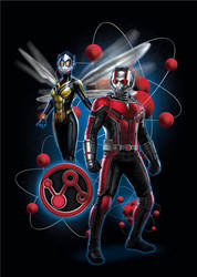 Ant-Man And The Wasp Is Ready To Team Up by MrWonderWorks