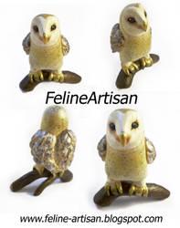 Owl figure Commission by FelineArtisan