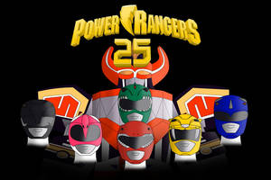 Power Rangers 25th Anniversary by MichaelJohnMorris