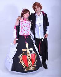 Sakura Hime and Syaoran by Ayechanit