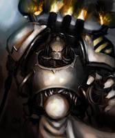 Iron Warrior by Nalro
