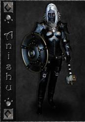DnD - War Domain Cleric by Rhian-Skyblade