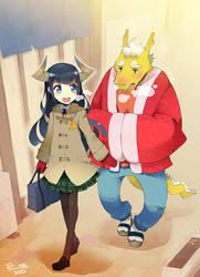 Dragon schoolers by RyusukeHamamoto
