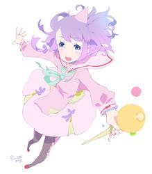 Pastel witch by RyusukeHamamoto
