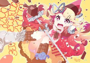 Chocolate witch by RyusukeHamamoto