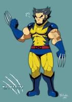 Wolverine by RyusukeHamamoto