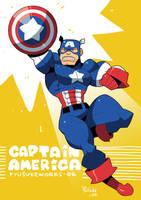 CAPTAIN AMERICA by RyusukeHamamoto