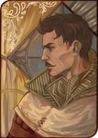 Dorian Pavus by Warallin