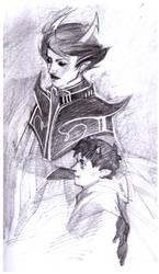Dolorosa and Kankri by Warallin
