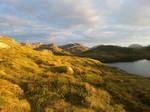 Mountain landscape stock VI by Wylderness