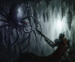 The Queen's Cavern by De4dite