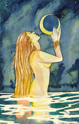 Water Goddess by nydwyngreendragon